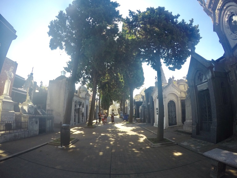 Recoleta Cemebary - 2017 Christie Lee