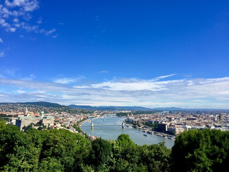 Citadella View Budapest - 2017 Christie Lee
